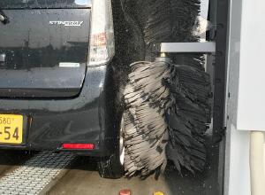 従来の洗車機との大きな違い